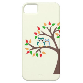 Owls in an all-season tree i Phone case