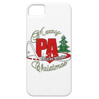 PA PHYSICIAN  ASSISTANT MERRY CHRISTMAS BARELY THERE iPhone 5 CASE