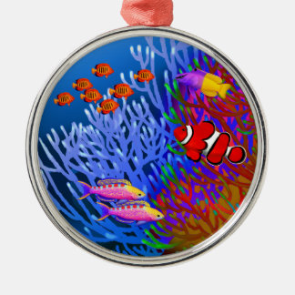 Pacific Coral Reef Fish Ornament
