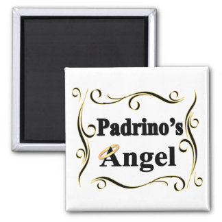 Padrino's Angel Gifts and Apparel Square Magnet