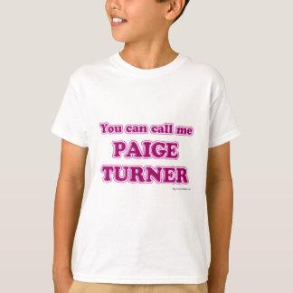 Paige Turner T-shirts