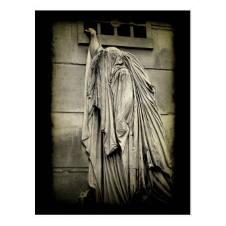 Pain and Sorrow Funeral Sympathy Card Postcard