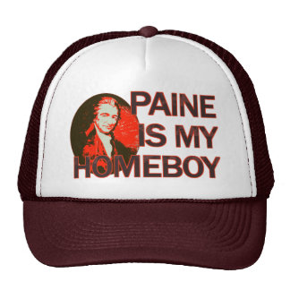 Paine Is My Homeboy Cap