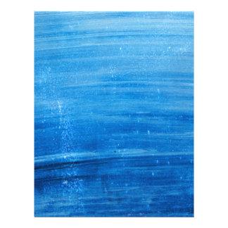 PAINTED BLUE SKY OCEAN BACKGROUNDS WALLPAPER MIXED 21.5 CM X 28 CM FLYER