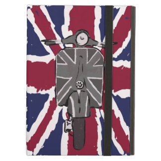 painted retro scooter and union jack case for iPad air