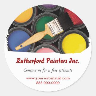 Painters Promotional Sticker