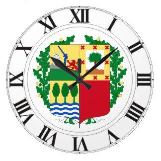 Pais Vasco (Spain) Coat of Arms Wallclocks