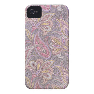 Paisley and flowers iPhone 4 case