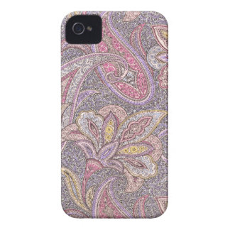 Paisley and flowers iPhone 4 cover