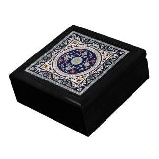 Palestinian Ceramic Tile Cobalt Blue - Gift Box