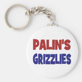 PALIN'S GRIZZLIES Key Chain