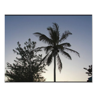 Palm Sunset 11 Cm X 14 Cm Invitation Card