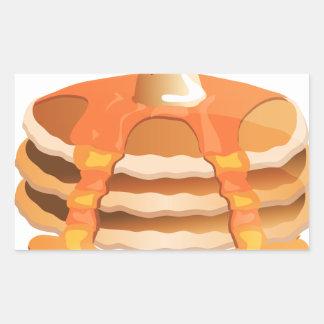 Pancake Stack Rectangular Sticker