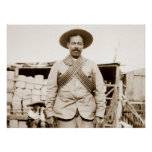 Pancho Villa with bandoliers Poster