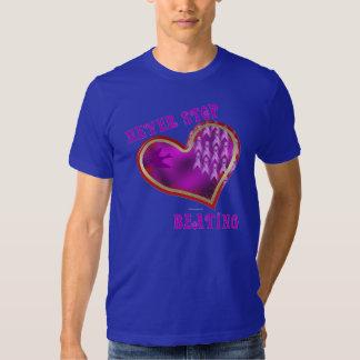Pancreatic Cancer Heart Men's T-Shirt
