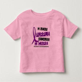 Pancreatic Cancer I WEAR PURPLE 37 I Care Tshirts