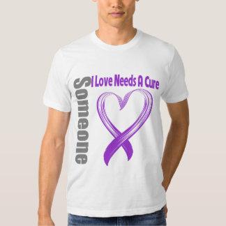 Pancreatic Cancer Someone I Love Needs A Cure Tshirts