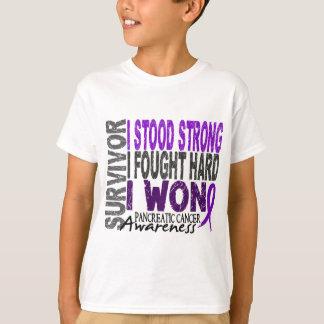 Pancreatic Cancer Survivor 4 T-shirt