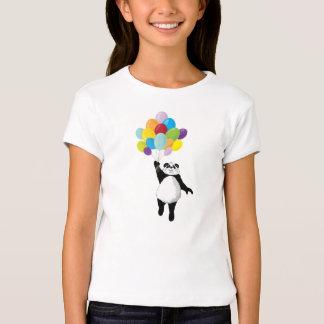Panda and Balloons Tee Shirt