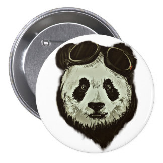 Panda Bear 7.5 Cm Round Badge