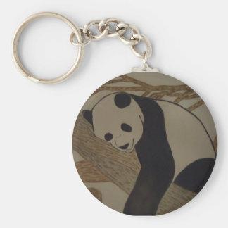 Panda Bear Keychain by KellyMDesigns