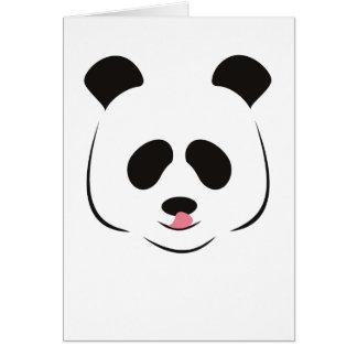 Panda Greeting Card