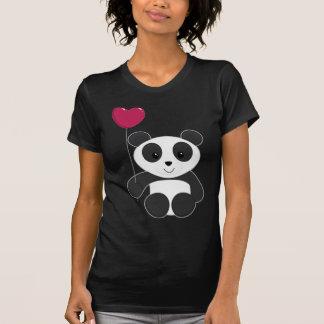 Panda Valentine T-shirts