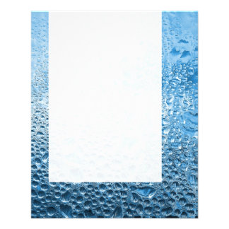 Panel 089 - Blue Water 11.5 Cm X 14 Cm Flyer