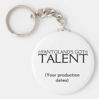 Pantoland's Got Talent Memento Basic Round Button Key Ring