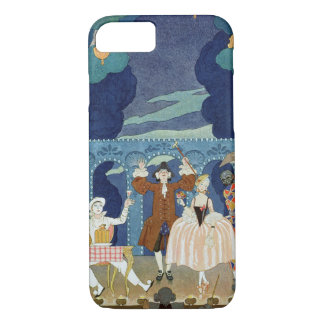Pantomime Stage, illustration for 'Fetes Galantes' iPhone 7 Case