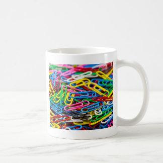 Paperclips Basic White Mug