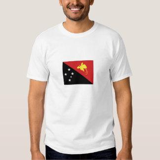 Papua New Guinea National Flag Tshirt