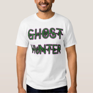 Paranormal (Ghost Hunter) White 2 Tees