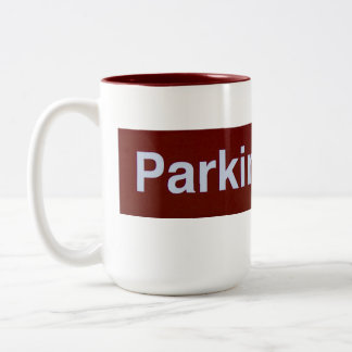 Parking Area Coffee Cup Two-Tone Mug