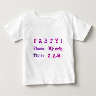 Party At My Crib At 2 A.M. T-shirt