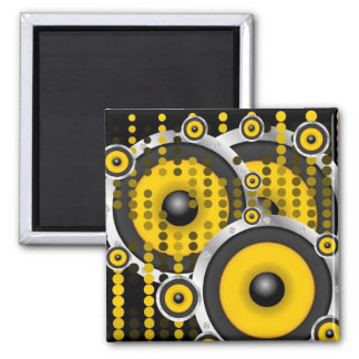 Party Background Square Magnet