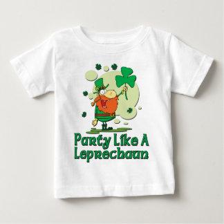 Party Like A Leprechaun Infant T-Shirt