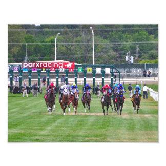 Parx Racing Photographic Print