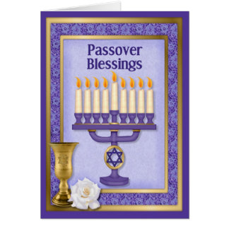 Passover Blessings Greeting Card