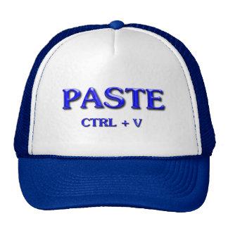 PASTE CTRL + V CAP