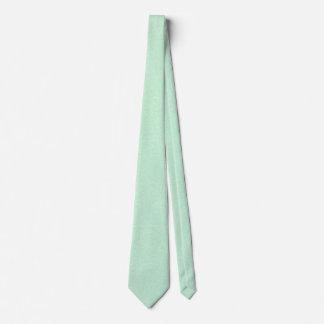 Pastel Mint Green Speckle Patterned Necktie