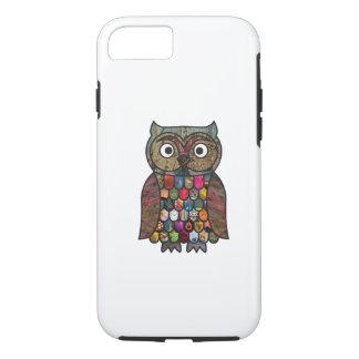Patchwork Owl iPhone 7 Case