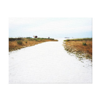 Pathway to the Beach Canvas Art Gallery Wrap Canvas