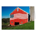 Patriotic Barn Greeting Card