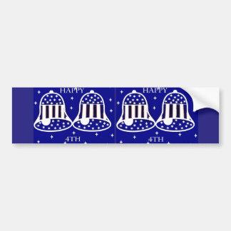 Patriotic Bells- Bumper Sticker