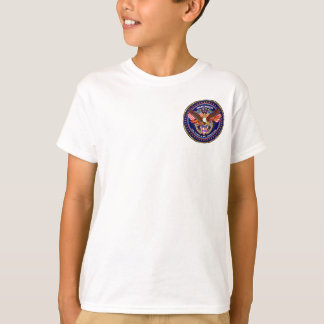 Patriotic kids pocket front only Light All Styles Shirts