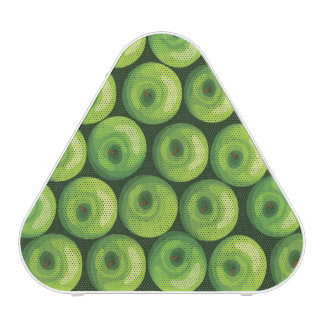 Pattern with Green Apples