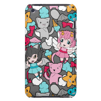 Pattern with kawaii doodle iPod touch Case-Mate case