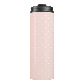 Pattern with white polka dots 2 thermal tumbler