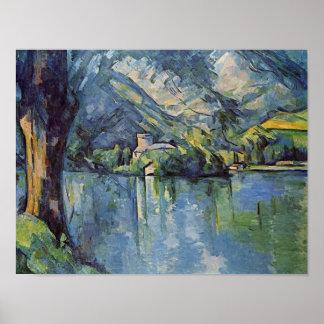 Paul Cézanne - Annecy Lake Poster
